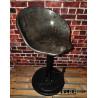 Vintage / Industrial / Oldtimer Hocker aus altem Traktorsitz / Schleppersitz / Sitzschale und alte Stahlfelge