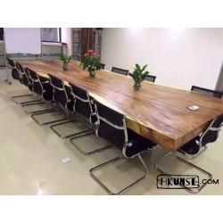 Konferenztisch aus Akazienholz