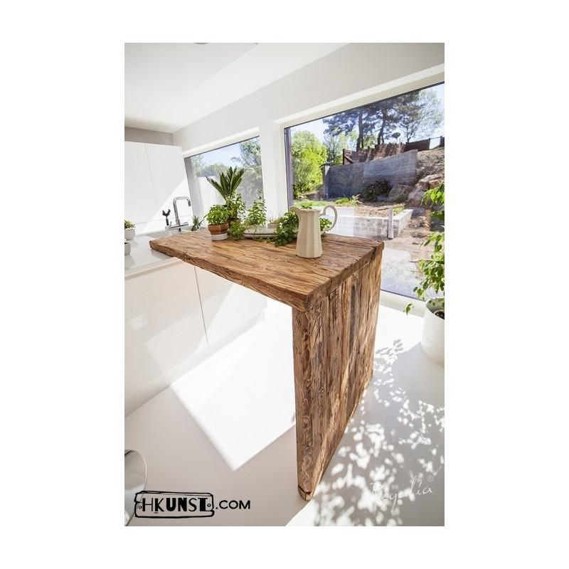Tischplatten aus Altholz nach Maß. - Hkunst