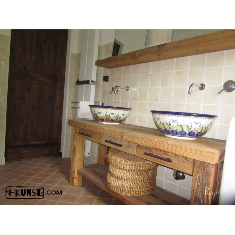 waschbeckenunterschrank mit schubladen hkunst. Black Bedroom Furniture Sets. Home Design Ideas