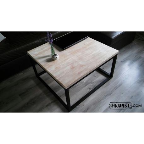 couchtisch quadratisch aus altholz hkunst. Black Bedroom Furniture Sets. Home Design Ideas