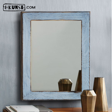 Wandspiegel mit Holzrahmen 60x80cm