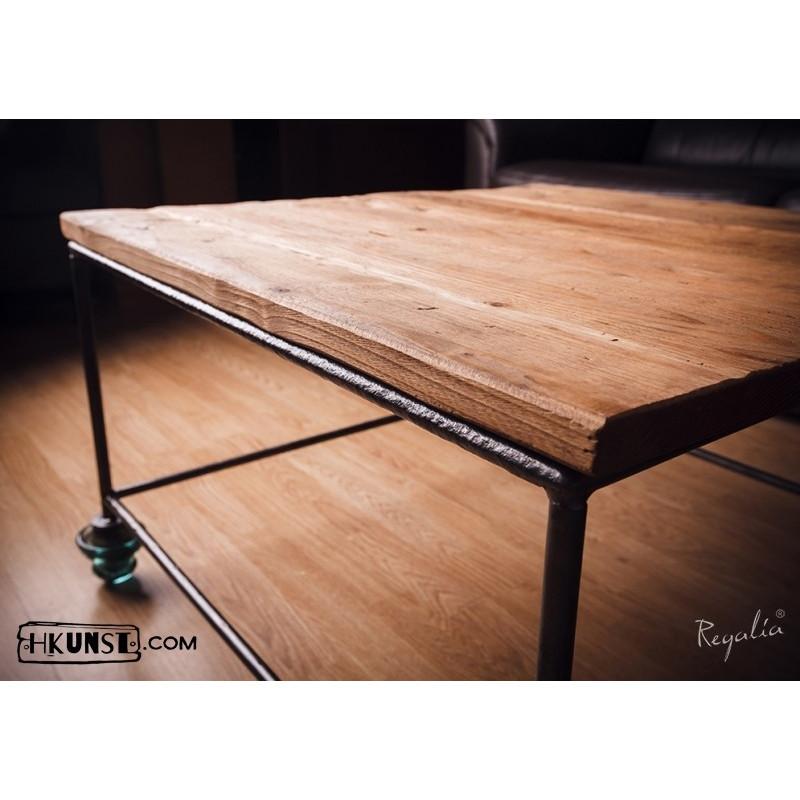 quadratischer couchtisch aus alten brettern 75x75cm. Black Bedroom Furniture Sets. Home Design Ideas
